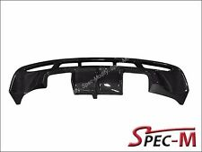 2008-2013 BMW E82 1 Series M Tech HG Type Rear Bumper Diffuser Carbon Fiber - CF