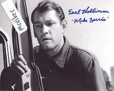 "Earl Holliman as ""Mike Ferris"" The Twilight Zone Autographed 8x10 Photo #1 COA"