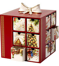 Villeroy & et boch noël jouets mémoire advent calendar boxed new