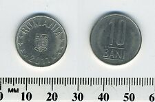 Romania 2011 -  10 Bani Nickel Plated Steel Coin - National emblem