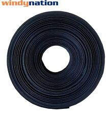 "100 FT 100' Feet BLACK 3/8"" 3/8 inch  Polyolefin 2:1 Heat Shrink Tubing"