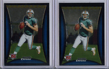 2008 Bowman Chrome Chad Henne #BC60 Rookie Card Lot of 2