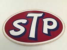 "Vintage STP Sticker Decal About 8"" x 5"" NOS"