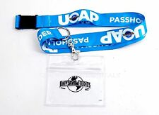NEW Universal Studios 2016 Passholder UOAP Lanyard ID & Badge Holder