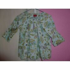 Blouse Fleurie Tons Vert Manches 3/4 Taille 12 Ans Marque : Chipie