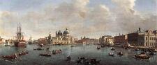 Art Oil Netherlands Caspar Andriaans van Wittel - Cityscape Bacino di San Marco