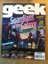 Geek July 2014 FREE SHIPPING, Guardians Of The Galaxy, Summer Movie Preview