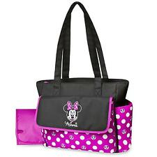 Disney Minnie Mouse Diaper Bag & Changing Pad - Polka Dots Free Shipping New