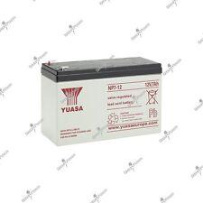 Batterie portail electrique plomb étanche YUASA NP7-12 12V 7AH 151X65X97.5