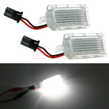 2X ERROR FREE 18 LED NUMBER LICENSE PLATE LIGHT For Ford Mondeo Focus 5D