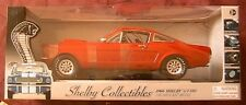 FORD SHELBY GT350 FASTBACK RED 1966 SHELBY116 1/43 SHELBY COLLECTIBLES ROSSO ROT