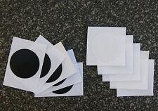 10x NFC Tag Sticker Topaz 512 3cm Aufkleber schwarz/weiß - für ALLE NFC Geräte!!