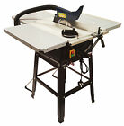 "FERM 1800W 10"" 250mm Table Saw + Triple Side Extension Tables"