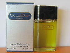 Vintage ~Pour Lui ~ Oscar De La Renta Men 4.2 0z After Shave Lotion Splash