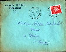 """RABASTENS (81) SCIERIE / FABRIQUE de MEUBLES """"Augustin TREGAN"""" en 1940"""