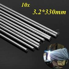 10pz Barrette/Bacchette/Verghette Saldatura Rod alluminio riparazione 3.2x330mm