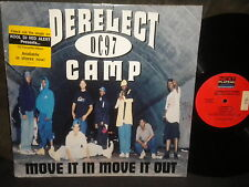 "Derelect Camp ""Move It In, Move It Out"" LP PROMO"