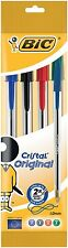BiC Cristal Original 1.0 mm Ball Pen - Multi-coloured, Pack of 4