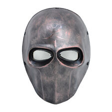 PC Lens Eye Mask Paintball Airsoft Full Face Protection Skull Mask Prop M07827