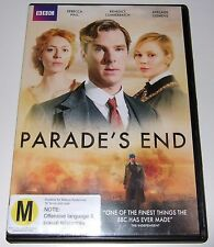 Parade's End (DVD, 2013, 2-Disc Set) Benedict Cumberbatch