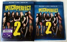 PITCH PERFECT 2 BLU RAY ONLY 1 DISC + SLIPCOVER SLEEVE FREE WORLD WIDE SHIPPING