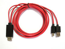 MHL HDMI Adapter Cable - Sony Xperia TX TL ZL Z ZR Z1 Z2 Z3 SP Connect to HD TV