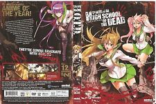 HIGH SCHOOL OF THE DEAD Complete Anime Collection (DVD, 2011, 2-Disc Set) DUBBED