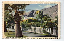 Palm Springs CA Hotel The Oasis Postcard 1942