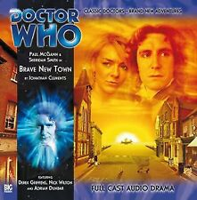 DOCTOR WHO Paul McGann 8th Dr Series #2.3 BRAVE NEW TOWN (Brand New)
