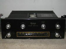 MCINTOSH MA6100 STEREO AMPLIFIER     SERVICED!  SOUNDS GREAT!!!!
