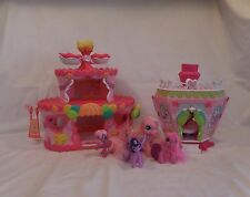 My Little Pony Ponyville Roller Skate Party Cake +  La Ti Da Hair Spa + Pony's