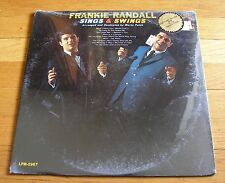 Frankie Randall 1965 RCA Mono LP Sings & Swings SEALED New