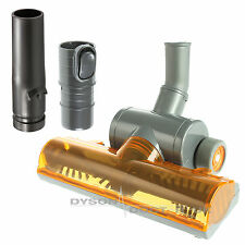 Turbo Carpet Brush 32mm Floor Tool & Fitting Adaptors For Dyson DC07, DC11