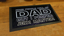Dad Jedi Master Quote Fathers Day Bar runner Beer mat Pubs and Clubs