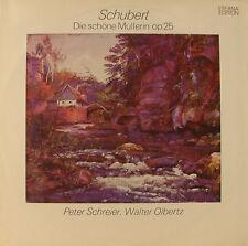 SCHUBERT DIE SCHÖNE MÜLLERIN ETERNA EDITION PETER SCHREIER WALTER OLBERTZ (h587)