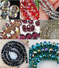 Wholesale! New 22 Colors Crystal Loose Beads 4x6mm /6x8mm