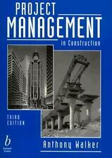Project Management in Construction by Anthony Walker (1996, Paperback, Revised)