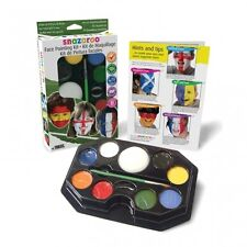 Snazaroo Supporter's FACE PAINT KIT (Flags/Country/Football/Sport)(1180130)
