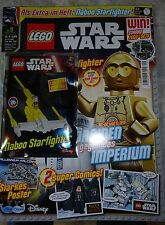 MAGAZINE: LEGO STAR WARS with Naboo Starfighter, 9/2016, LIMITED EDITION