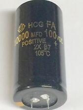 Capacitor 10000uF 10000mfd 100V 100VDC Electrolytic 35x70mm Audio HIFI Filter