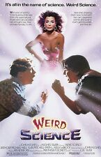 Weird Science movie poster (b) Kelly LeBrock, Anthony Michael Hall