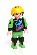 Playmobil Figure Sports Boy Child Skateboard Skater w/ Helmet Pads 3709