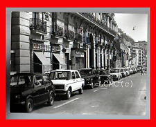 FOTOGRAFIA PHOTO VINTAGE B/N BLACK AND WHITE 1978 NAPOLI AUTO EPOCA