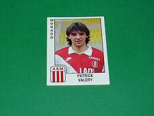 PANINI FOOTBALL FOOT 90 N°165 VALERY ASM AS MONACO LOUIS II 1989-1990
