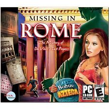 Missing In Rome + Azteca PC Games Windows 10 8 7 XP hidden object seek and find