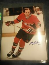 Guy Lafleur Autographed Photo  8x10 Hall of Fame Hockey Player