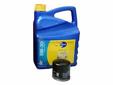 TOYOTA YARIS 1.4 D4D 5W30 SYNTHETIC ENGINE OIL 5LT & OIL FILTER SERVICE KIT