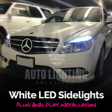 Mercedes Clase C W204 2007-2011 Xenon Blanco LED SIDELIGHTS UPGRADE * Venta *