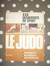 """LE JUDO """"A La Découverte Du Sport"""""""