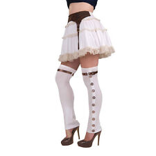 Vintage Steampunk Spats Victorian Fancy Dress Costume Prop